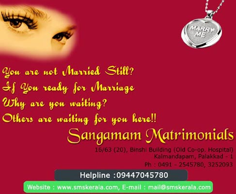 FREE|Matrimony|Web Site|Marriage Bureau|Kollam|Online|Kollam